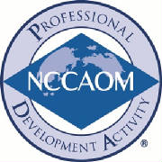 Continuing Education for acupuncturists NCCAOM